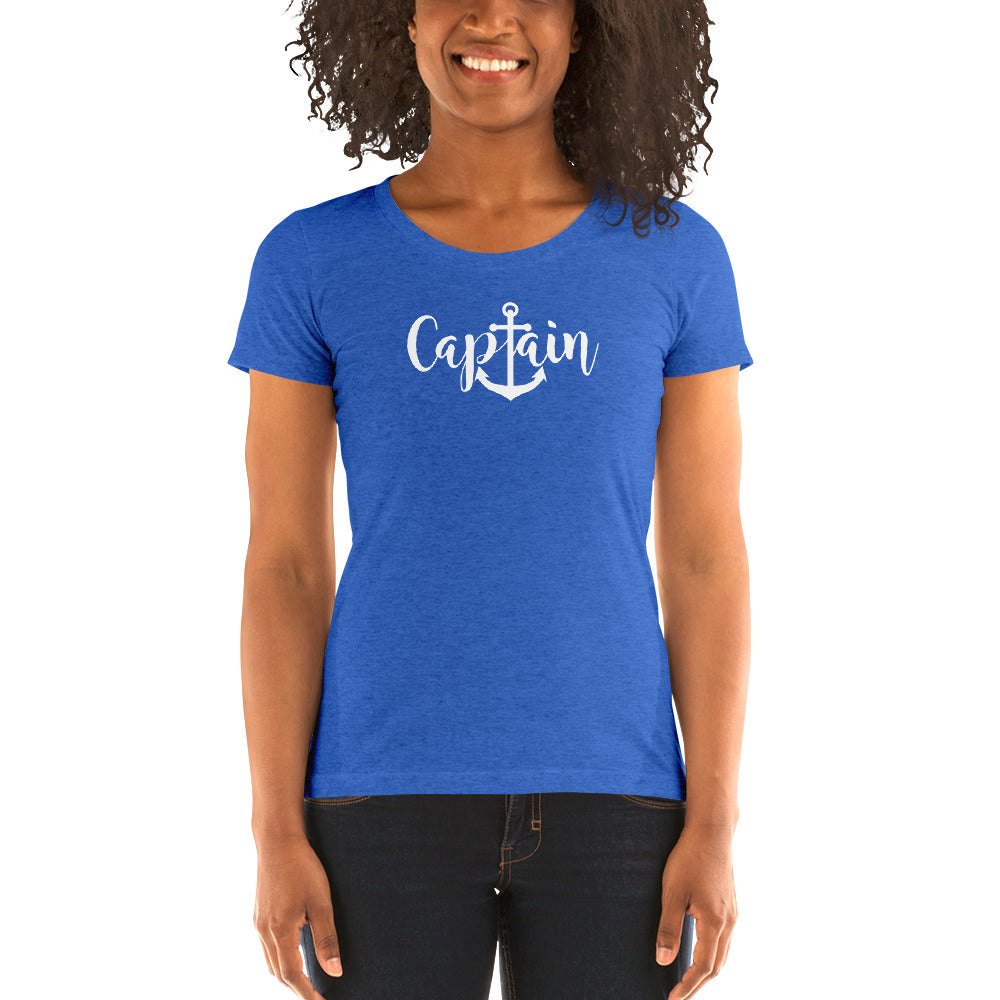 Captain Women's Short Sleeve T-Shirt - Nauti Details