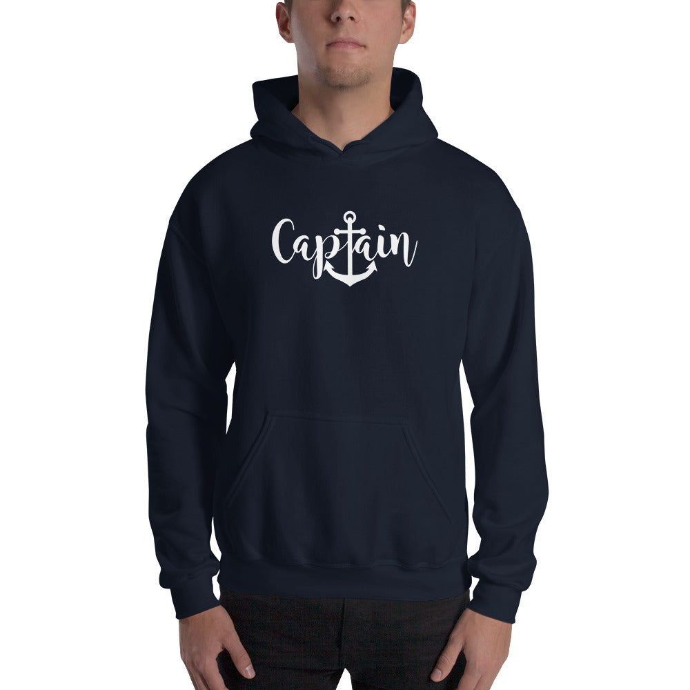 Captain Unisex Hooded Sweatshirt - Nauti Details