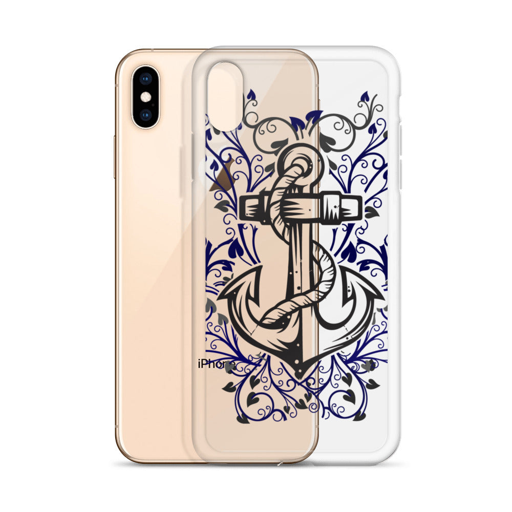 Anchor Graphic iPhone Case - Nauti Details