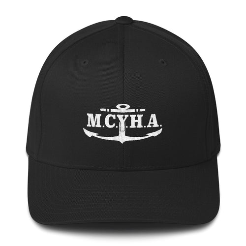 Miss Croix Yacht Harbor Initials Fitted Hat