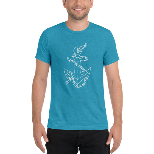 Anchor Men's Short Sleeve T-shirt - Nauti Details