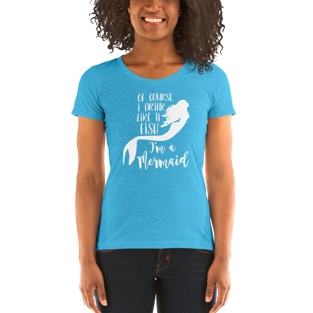 Drink Like A Fish Women's Short Sleeve T-Shirt - Nauti Details