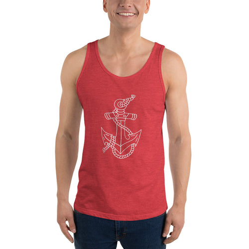 Anchor Men's Tank Top - Nauti Details