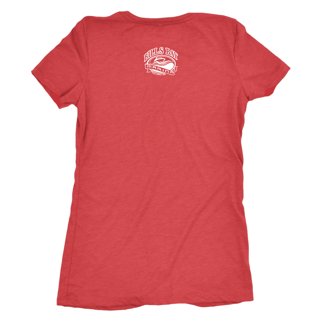 Nauti Yachty Women's Triblend T-Shirt, Available in 5 Colors - Nauti Details