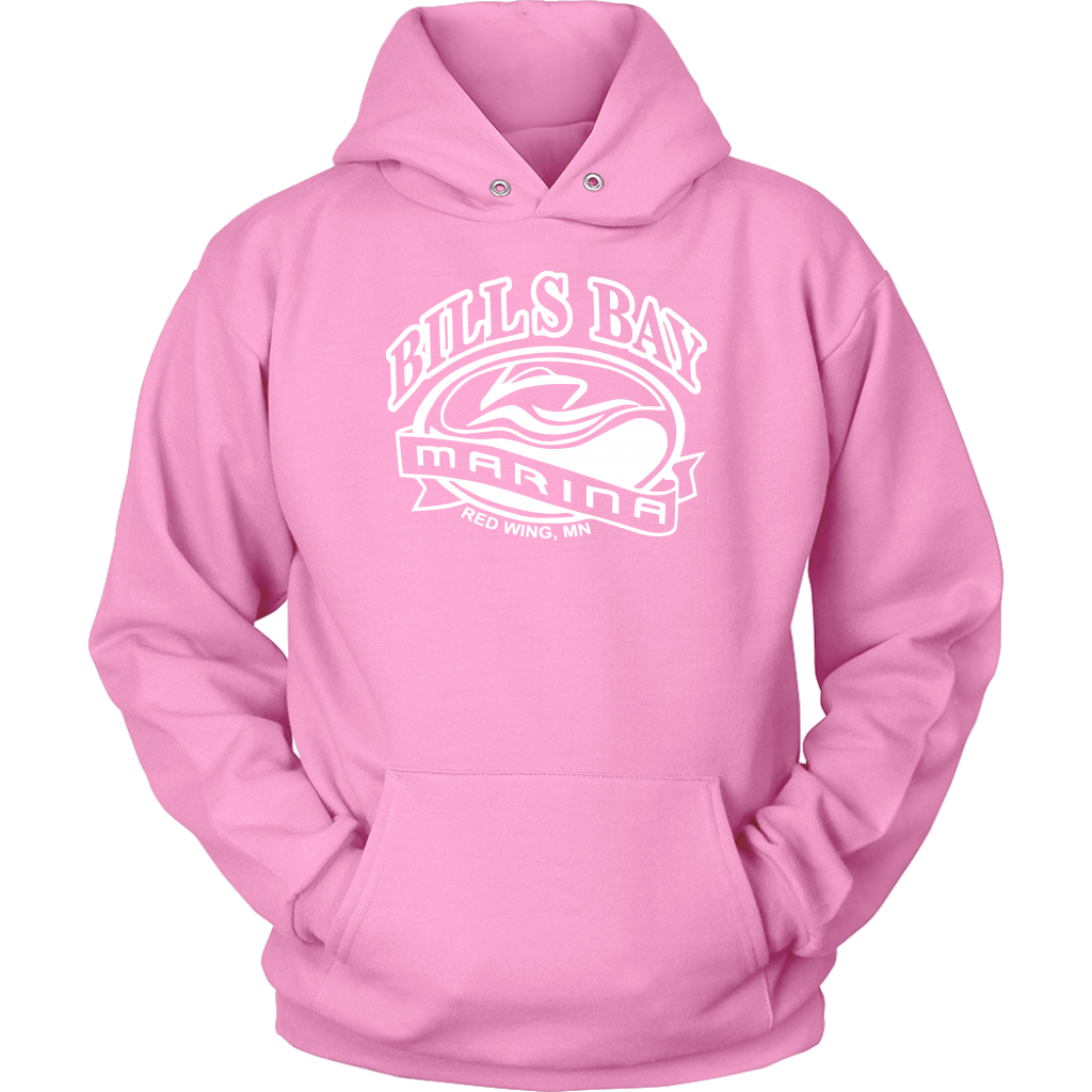 Bill's Bay Marina Unisex Hoodie, Available in 12 Colors - Nauti Details