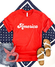 America tee Short sleeve patriotic tee Bella Canvas 3001