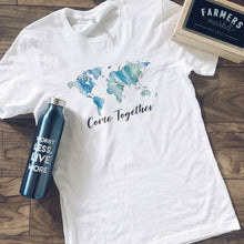 Come Together Short sleeve tee for a cause Bella Canvas 3001 white