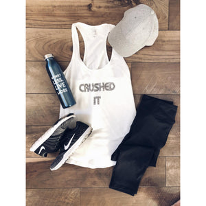 Crushed It women's tank Costa Threads
