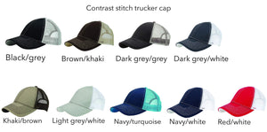 Customizable logo trucker hat Customized logo hat Costa Threads