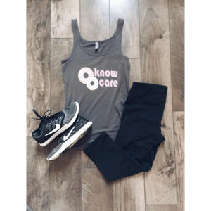 Donut know donut care women's fitted tank Fitness tank Costa Threads