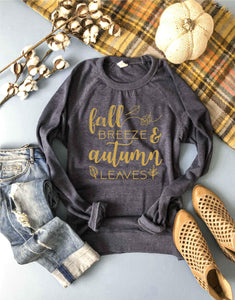 Fall breeze french terry raglan Fall Sweatshirt Cotton heritage and lane seven French Terry raglan XS Navy