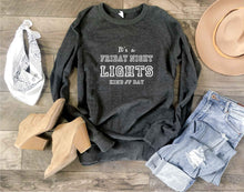 Friday night lights french terry raglan Football french Terry Lane seven French Terry raglan XS Charcoal