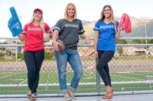 Gameday womens varsity tee Varsity gameday tee LAT womens varsity tee