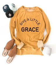 Give a little grace french terry raglan Fall French Terry raglan Lane seven and cotton heritage French Terry raglans XS Mustard