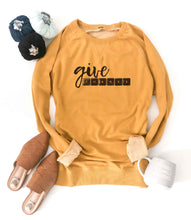 Give thanks french terry raglan Fall French Terry raglan Cotton heritage and lane seven French Terry raglan XS Mustard