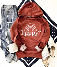 Go get your happy french terry hoodie Fall French Terry hoodie Lane seven and cotton heritage French Terry raglans