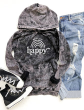 Go get your happy vintage wash hoodie Edgy hoodie Lane Seven vintage hoodie XS Vintage cloud