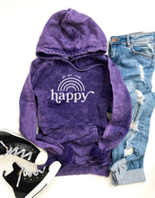 Go get your happy vintage wash hoodie Edgy hoodie Lane Seven vintage hoodie XS Vintage purple