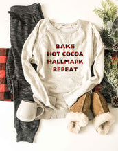 Hallmark repeat french terry raglan sweatshirt Holiday French Terry raglan Cotton heritage and lane seven French Terry raglan XS Oatmeal