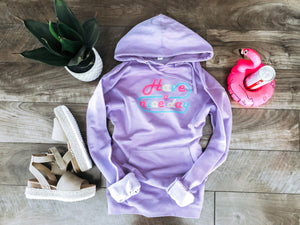 Have a nice day hoodie Summer hoodie Independent Trading company lightweight hoodie S Lilac purple