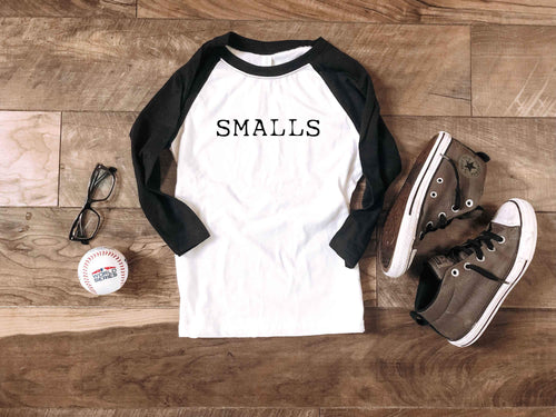 Kids and adults Smalls baseball tee Kids baseball tee Bella canvas youth baseball tee