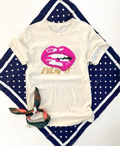 Killin' it tee Summer tank Bella Canvas 3483 unisex muscle tank XS Cream