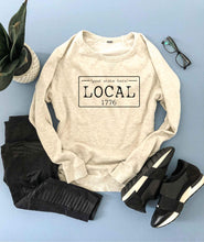 Local license french terry raglan sweatshirt- New York,North Carolina,North Dakota,Ohio,Oklahoma,Oregon,Pennsylvania, South Carolina, South Dakota State French Terry raglan Cotton heritage and lane seven French Terry raglan