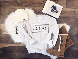 Local license sweatshirt- Tennessee,Texas,Utah,Vermont,Virginia,Washington,West Virginia,Wisconsin,Wyoming State sweatshirt Lane seven unisex sweatshirt