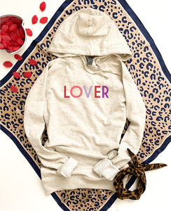 Lover French Terry hoodie Valentines day French Terry hoodie Cotton heritage French Terry hoodie