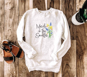 Made in the south crewneck sweatshirt Miscellaneous sweatshirt Lane seven unisex sweatshirt oatmeal