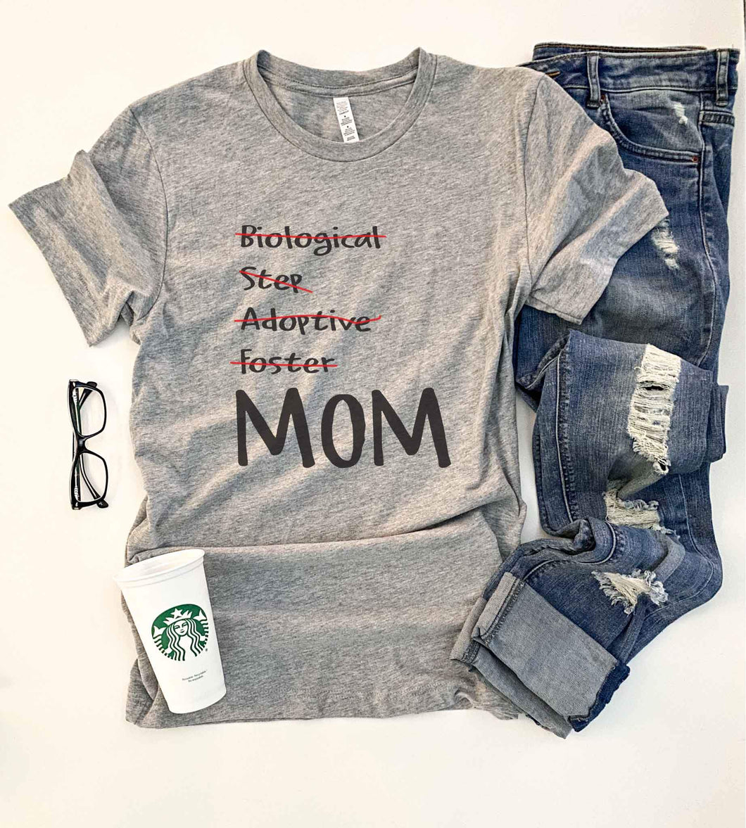 Mom tee Short sleeve mom tee Bella Canvas 3001