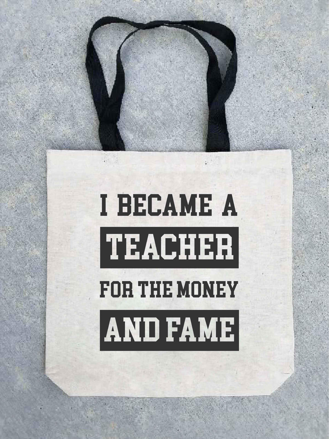 Money and fame tote bag Tote bag Costa Threads
