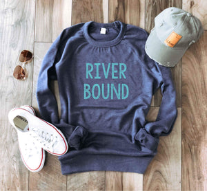 River bound french terry raglan River French Terry raglan Lane seven French Terry raglan navy