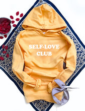 Self-love club fleece hoodie Miscellaneous hoodie Cotton heritage lightweight fleece and independent trading hoodie XS Mango