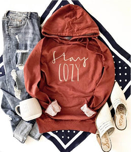 Stay cozy french terry hoodie Fall French Terry hoodie Lane seven and cotton heritage French Terry raglans
