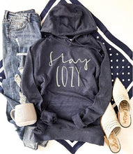 Stay cozy french terry hoodie Fall French Terry hoodie Lane seven and cotton heritage French Terry raglans XS Navy