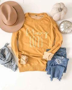 Stay cozy french terry raglan-several color options Fall French Terry raglan Lane seven and cotton heritage French Terry raglans XS Mustard