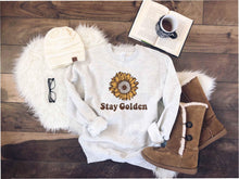 Stay Golden sweatshirt Fall Sweatshirt Lane seven unisex sweatshirt S Oatmeal