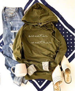 Sweater weather french terry hoodie Fall French Terry hoodie Lane seven and cotton heritage French Terry raglans XS Olive