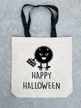 Trick or treat tote bag- customizable! Tote bag Costa Threads Happy Halloween tote bag