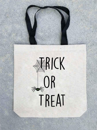 Trick or treat tote bag- customizable! Tote bag Costa Threads Trick or treat tote bag