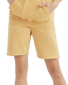 Vintage shorts- unisex fit Vintage fleece shorts Lane seven vintage fleece shorts XS Vintage mustard