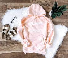 Wake me up when it's summer hoodie Winter hoodie Lane seven unisex hoodie charcoal S Pale pink