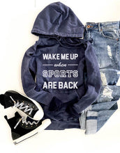 Wake me up when sports are back hoodie Miscellaneous French Terry raglan Lane seven French Terry raglan mauve XS Vintage navy