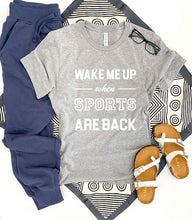 Wake me up when sports are back tee Short sleeve 2020 tee Bella Canvas 3001