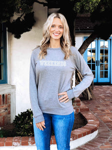 Weekends french terry raglan-several color options Travel French Terry raglan Lane seven French Terry raglan