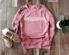 Weekends french terry raglan-several color options Travel French Terry raglan Lane seven French Terry raglan S Mauve