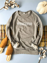 Weekends french terry raglan-several color options Travel French Terry raglan Lane seven French Terry raglan XS Heather grey