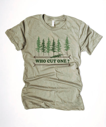 Who cut one tee Short sleeve patriotic tee Lane Seven vintage tee