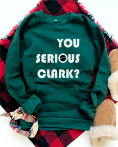 You serious clark pocket sweatshirt Holiday pocket sweatshirt Next level 9000